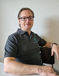 Günther Uiblein - Starkes Team-Mitglied der Spenglerei Hammerschmiedt